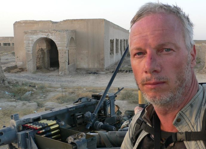 Sean Langan journaliste de guerre