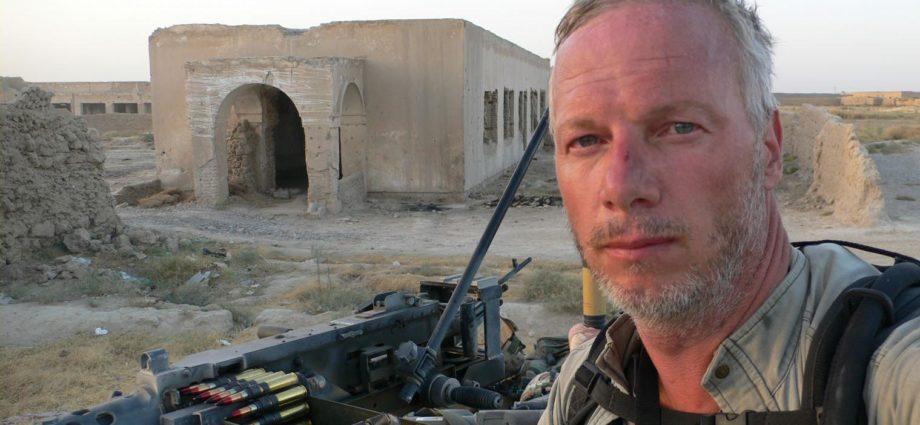 Sean Langan journaliste de guerre
